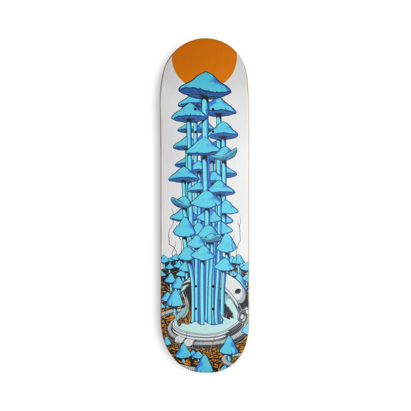 Space Fungi Accessories Skateboard by Threadless Artist Shop