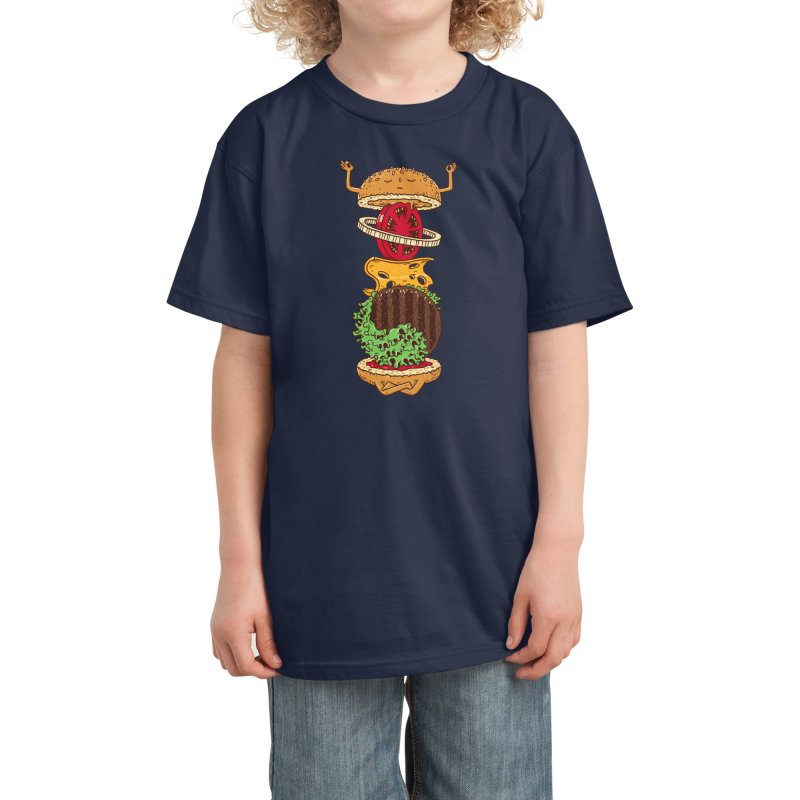 Zenburger Kids T-Shirt by Threadless Artist Shop