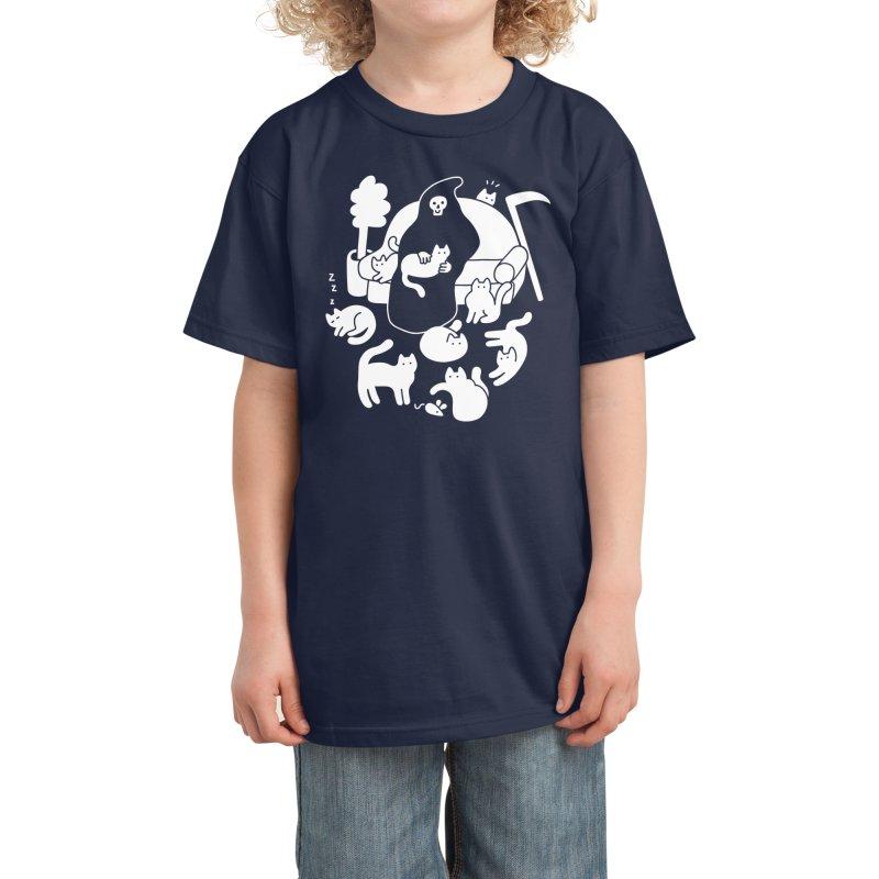 9 Lives Kids T-Shirt by Threadless Artist Shop