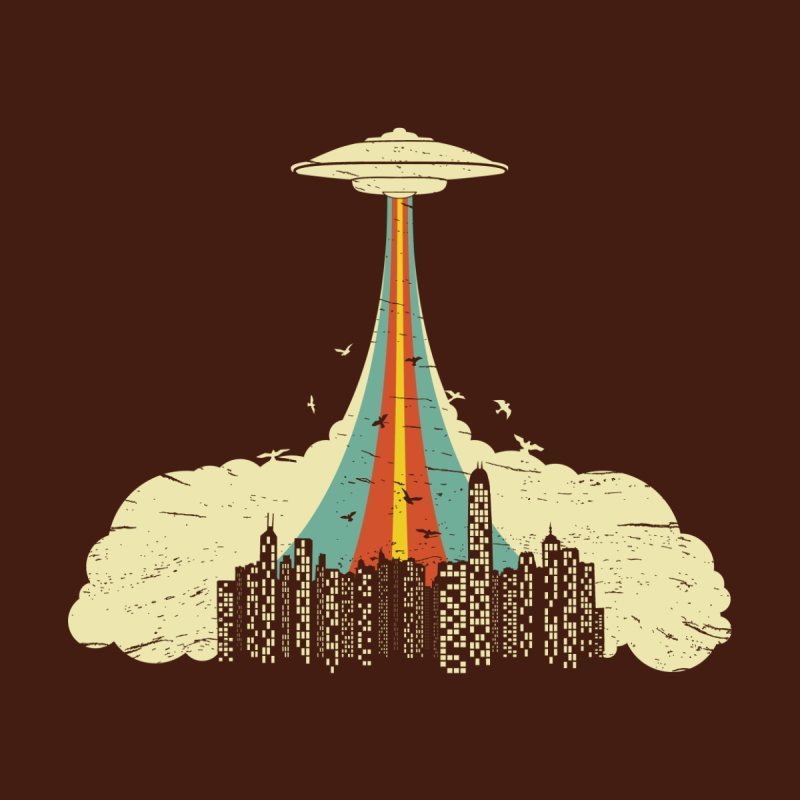 The Day They Came Men's T-Shirt by Threadless Artist Shop