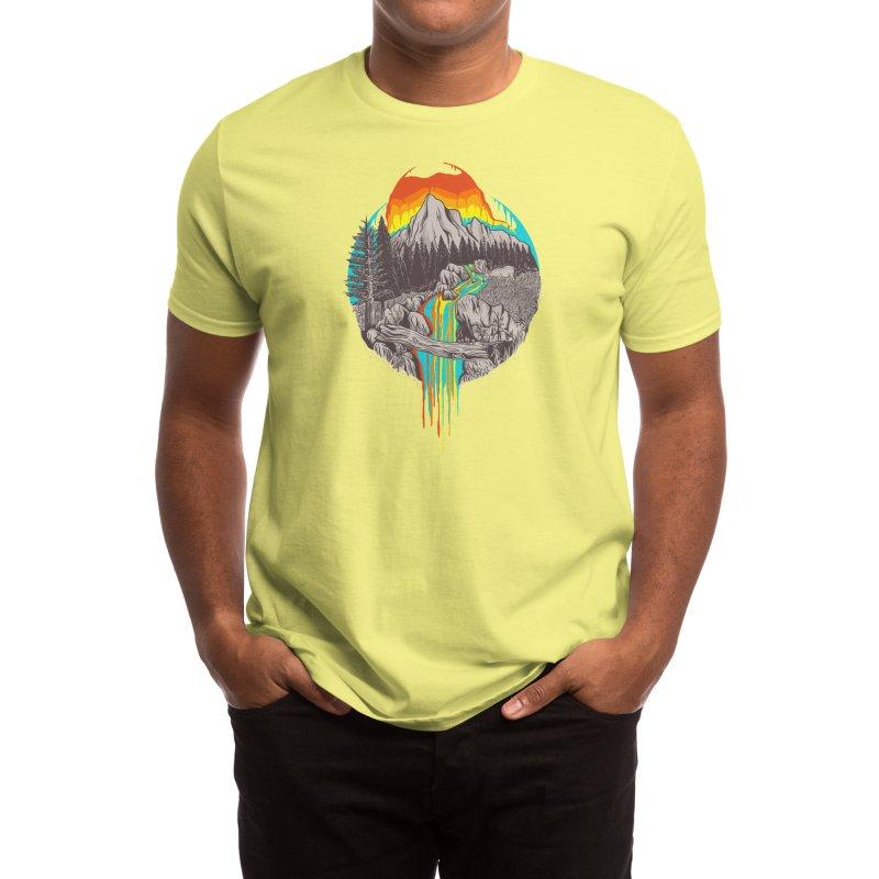 Melting Sun Men's T-Shirt by Threadless Artist Shop