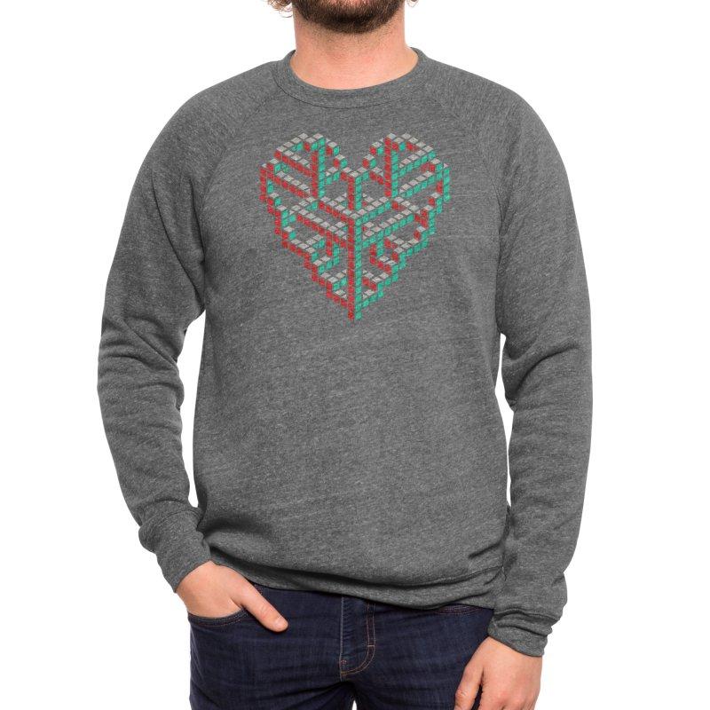 Impossible Love - John Tibbott Men's Sweatshirt by Threadless Artist Shop