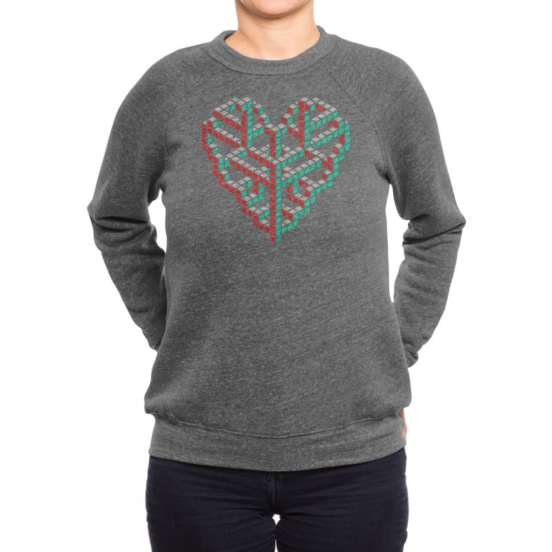 Impossible Love - John Tibbott Women's Sweatshirt by Threadless Artist Shop