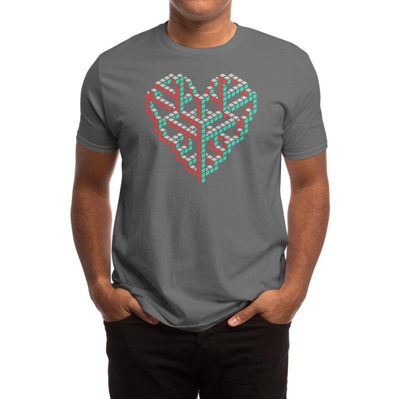 Impossible Love - John Tibbott Men's T-Shirt by Threadless Artist Shop