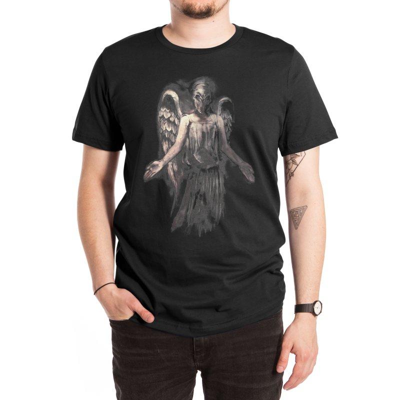 I've Forgotten Why I Shouldn't Blink Men's T-Shirt by Threadless Artist Shop