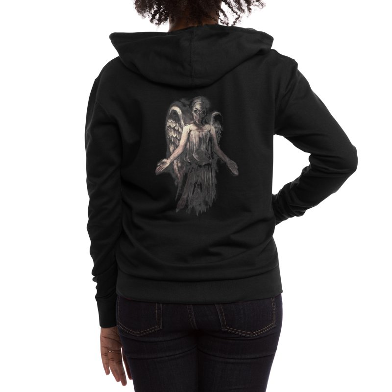 I've Forgotten Why I Shouldn't Blink Women's Zip-Up Hoody by Threadless Artist Shop