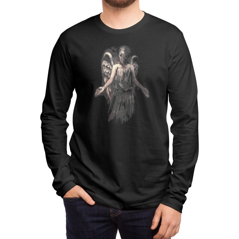 I've Forgotten Why I Shouldn't Blink Men's Longsleeve T-Shirt by Threadless Artist Shop