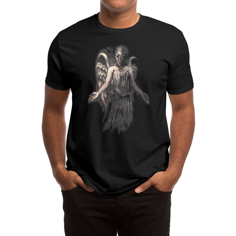 I've Forgotten Why I Shouldn't Blink Men's T-Shirt by Threadless Artist Shop
