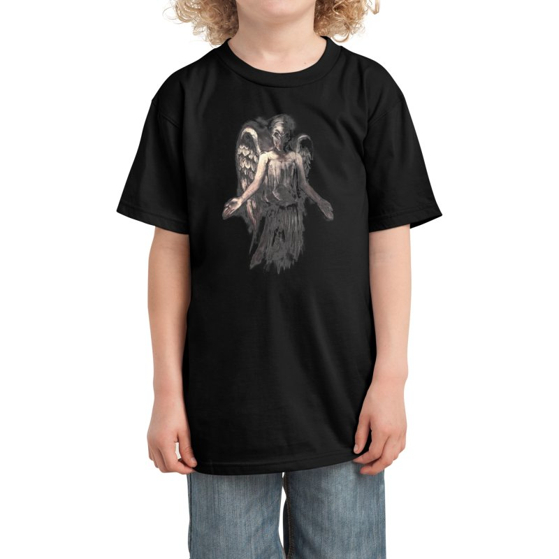 I've Forgotten Why I Shouldn't Blink Kids T-Shirt by Threadless Artist Shop
