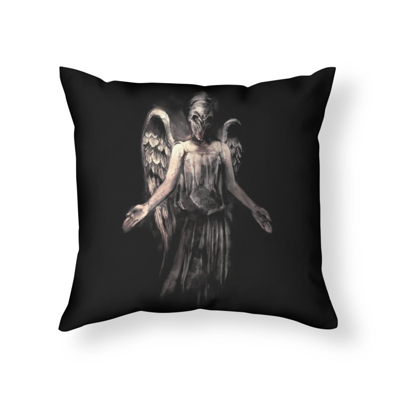 I've Forgotten Why I Shouldn't Blink Home Throw Pillow by Threadless Artist Shop