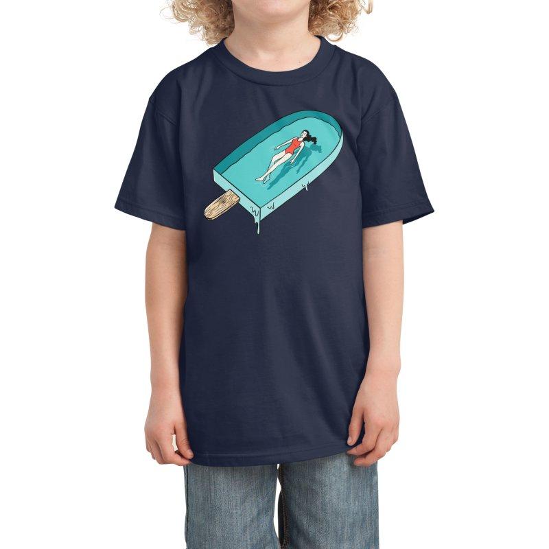 Afloat Kids T-Shirt by Threadless Artist Shop