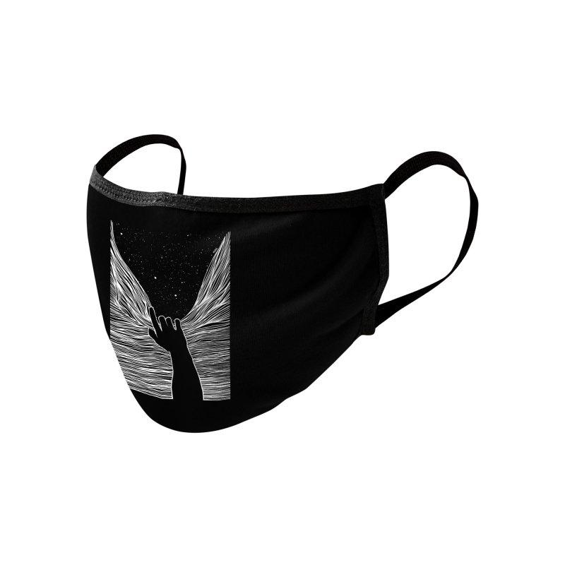 Through window Accessories Face Mask by Threadless Artist Shop