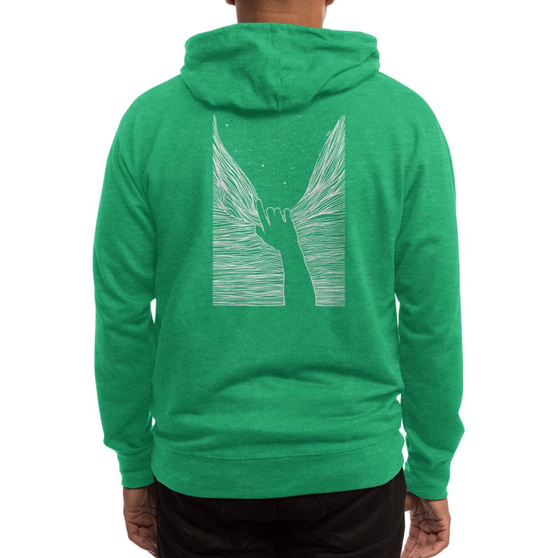 Through window Men's Zip-Up Hoody by Threadless Artist Shop