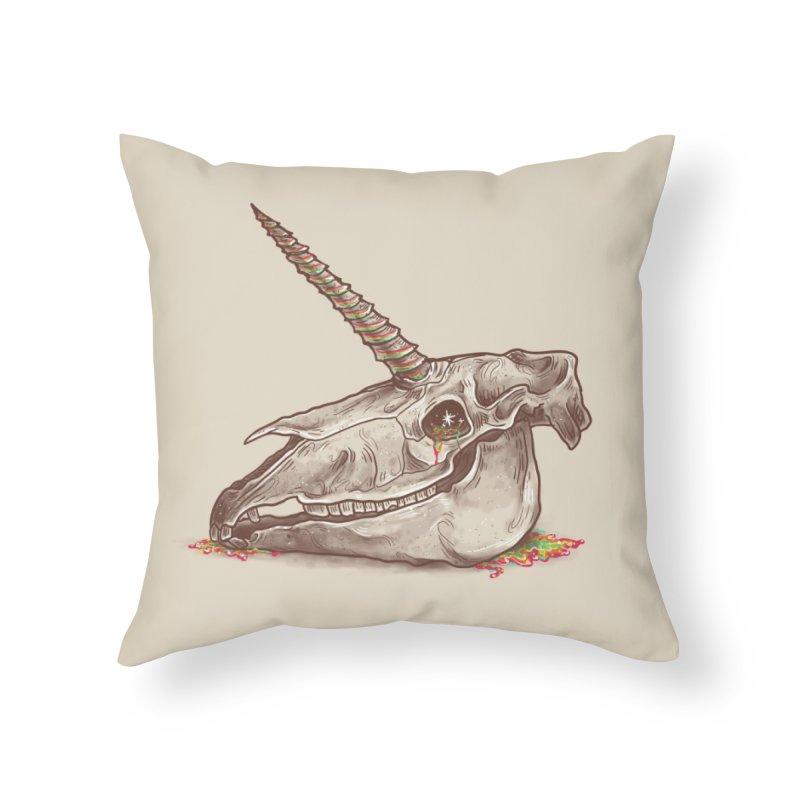 Magic Remains Home Throw Pillow by Threadless Artist Shop