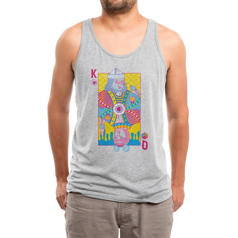 King of Nothing, Queen of Nowhere Men's Tank by Threadless Artist Shop