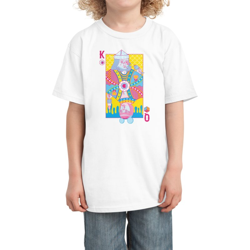 King of Nothing, Queen of Nowhere Kids T-Shirt by Threadless Artist Shop