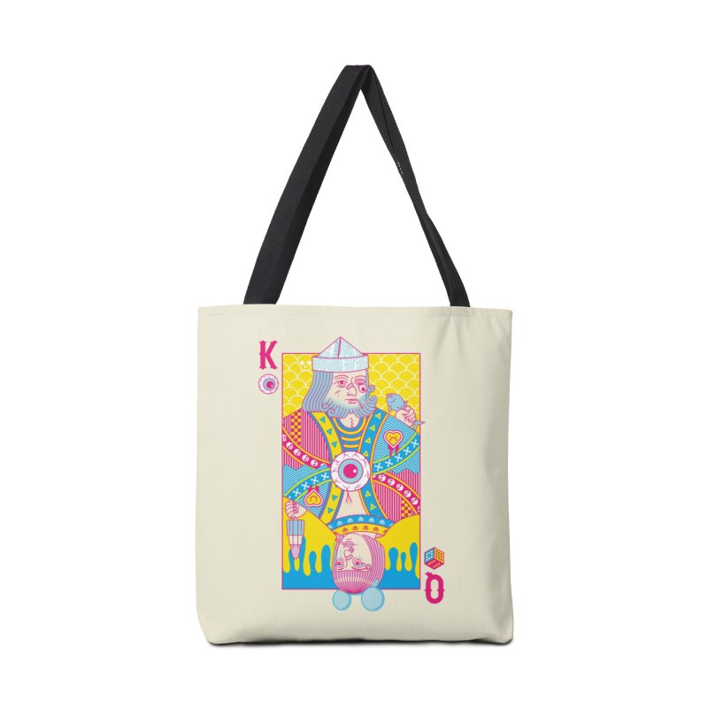 King of Nothing, Queen of Nowhere Accessories Bag by Threadless Artist Shop