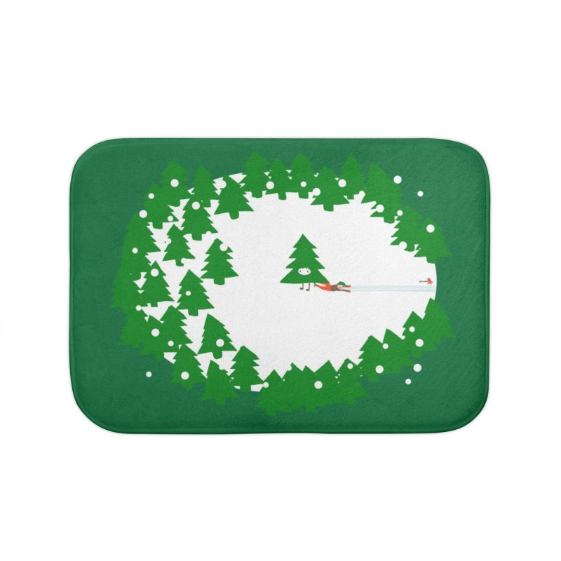 Day Of Reckoning Home Bath Mat by Threadless Artist Shop
