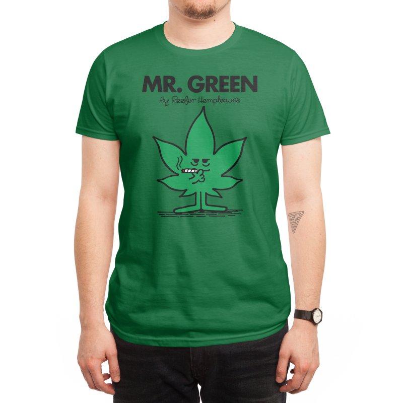Mr. Green Men's T-Shirt by Threadless Artist Shop