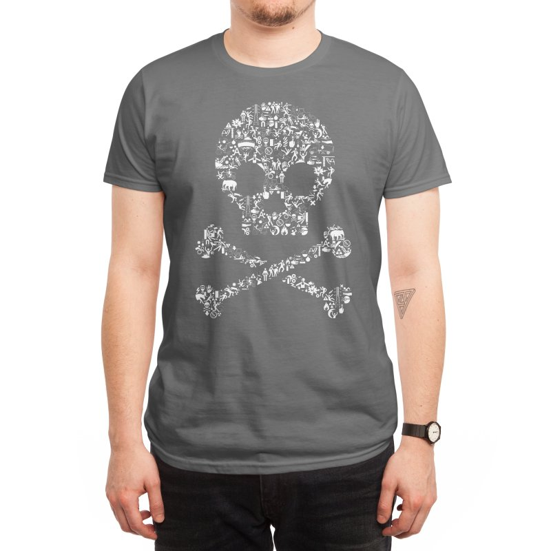Stick Figures In Peril Men's T-Shirt by Threadless Artist Shop