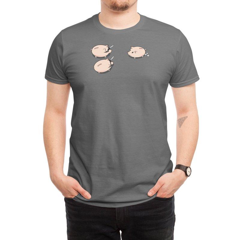 Piggy Bank Heist Men's T-Shirt by Threadless Artist Shop