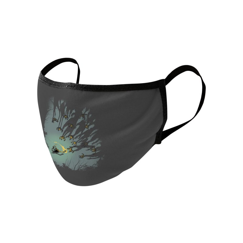 Zombie Shadows Accessories Face Mask by Threadless Artist Shop