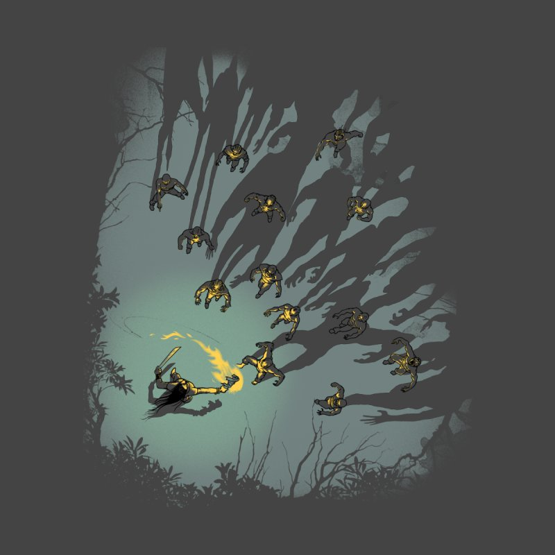 Zombie Shadows Men's T-Shirt by Threadless Artist Shop
