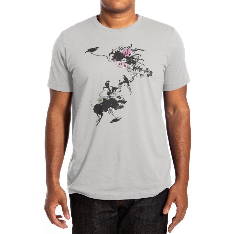 Frida's Garden Men's T-Shirt by Threadless Artist Shop