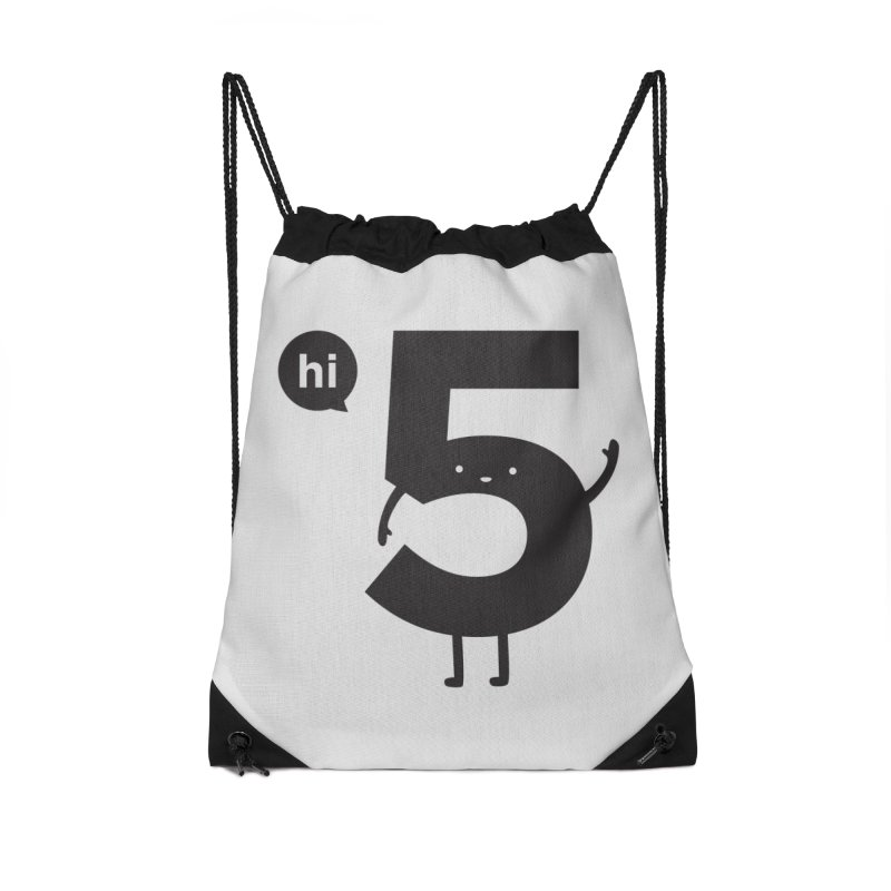 Hi 5 Accessories Bag by Threadless Artist Shop