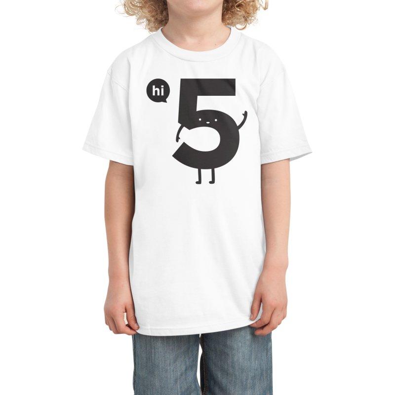 Hi 5 Kids T-Shirt by Threadless Artist Shop