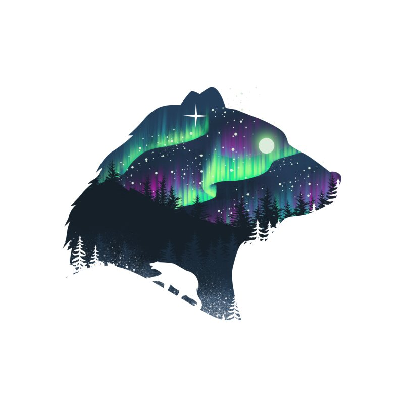 Northern Lights Men's T-Shirt by Threadless Artist Shop