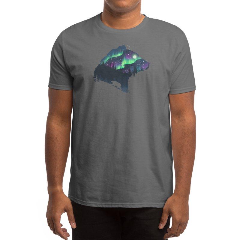 Northern Lights Men's T-Shirt by Threadless Artist Shop