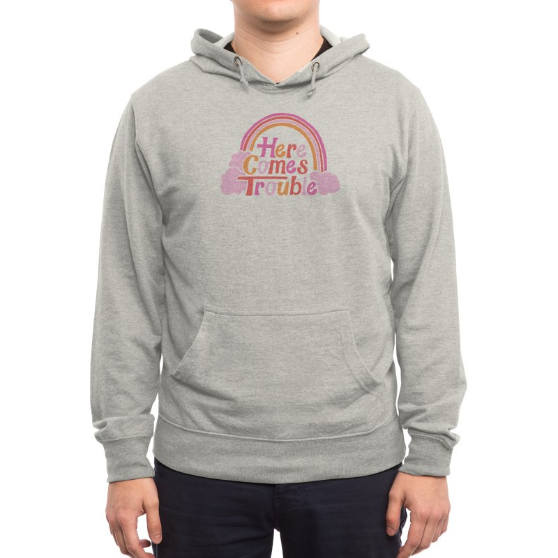 Here Comes Trouble Men's Pullover Hoody by Threadless Artist Shop