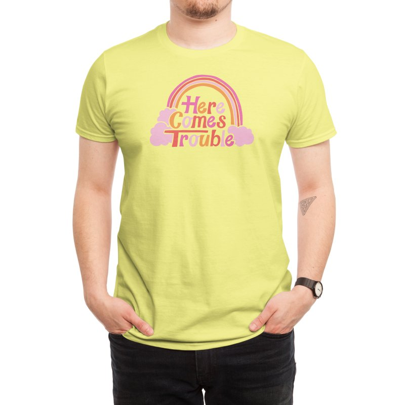 Here Comes Trouble Men's T-Shirt by Threadless Artist Shop