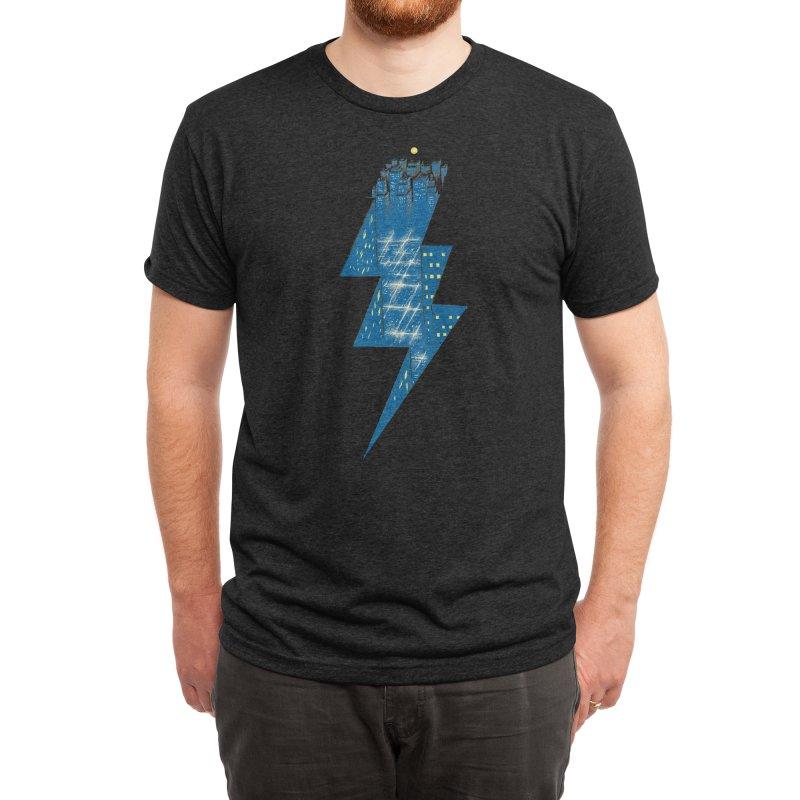 Thunder City Men's T-Shirt by Threadless Artist Shop