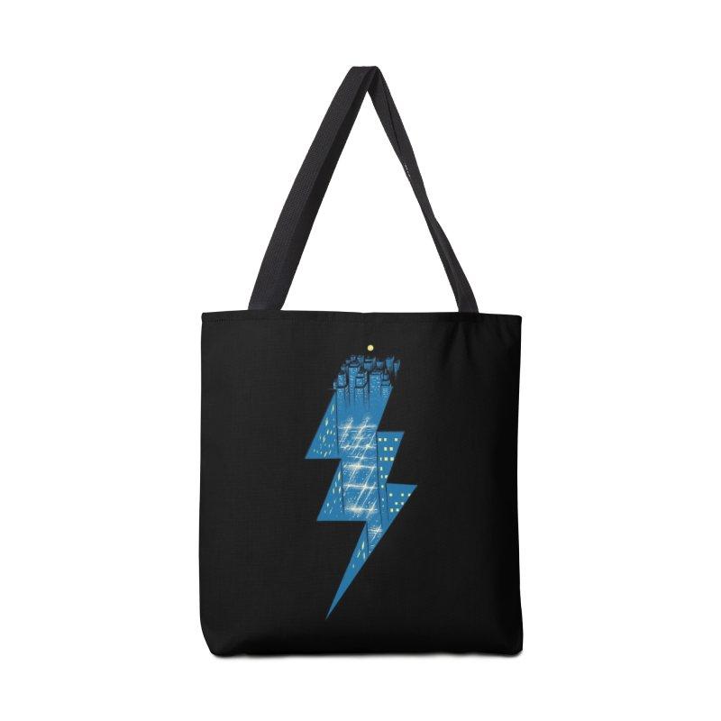 Thunder City Accessories Bag by Threadless Artist Shop