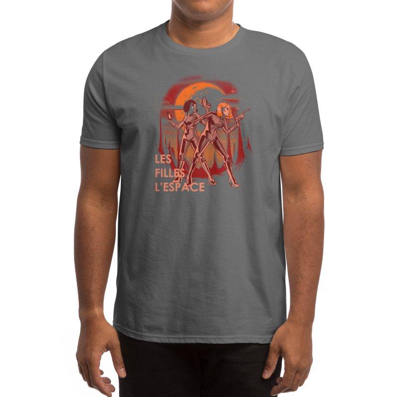 LES FILLES L'ESPACE Men's T-Shirt by Threadless Artist Shop