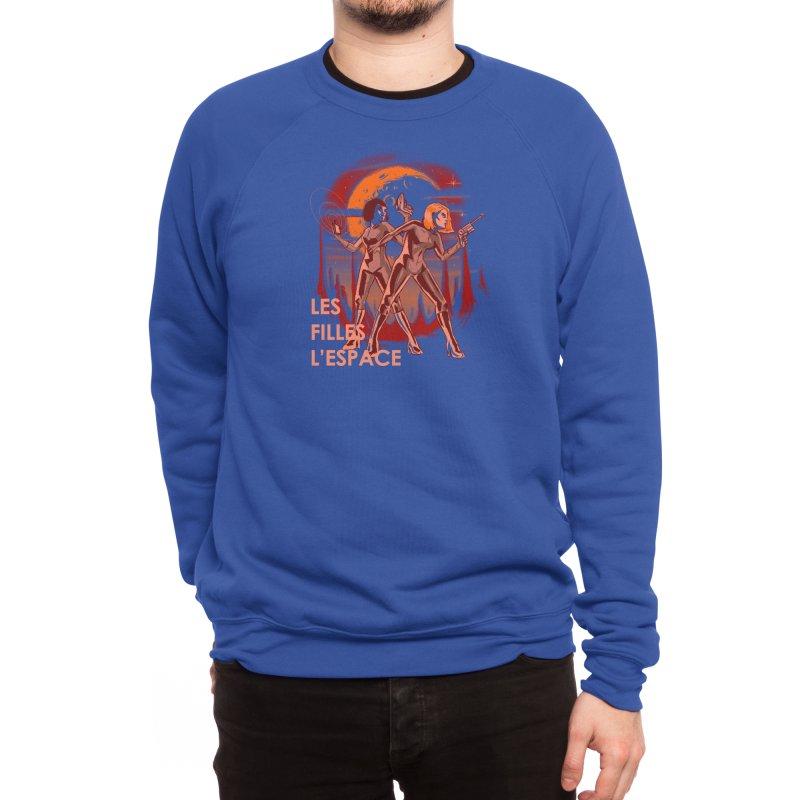 LES FILLES L'ESPACE Men's Sweatshirt by Threadless Artist Shop
