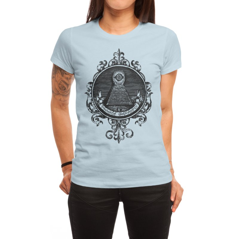 The All Seeing Eye Women's T-Shirt by Threadless Artist Shop