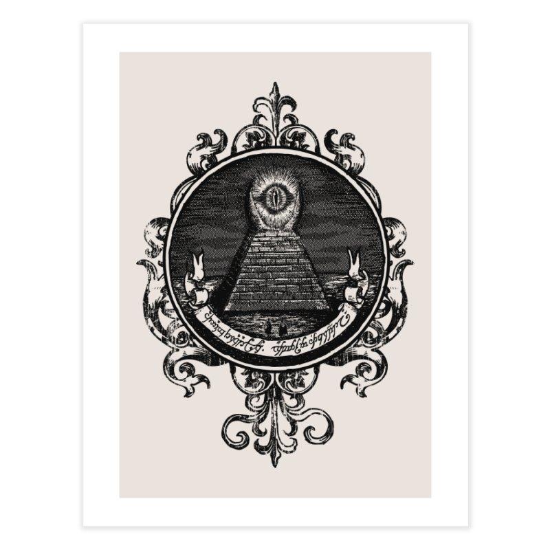 The All Seeing Eye Home Fine Art Print by Threadless Artist Shop
