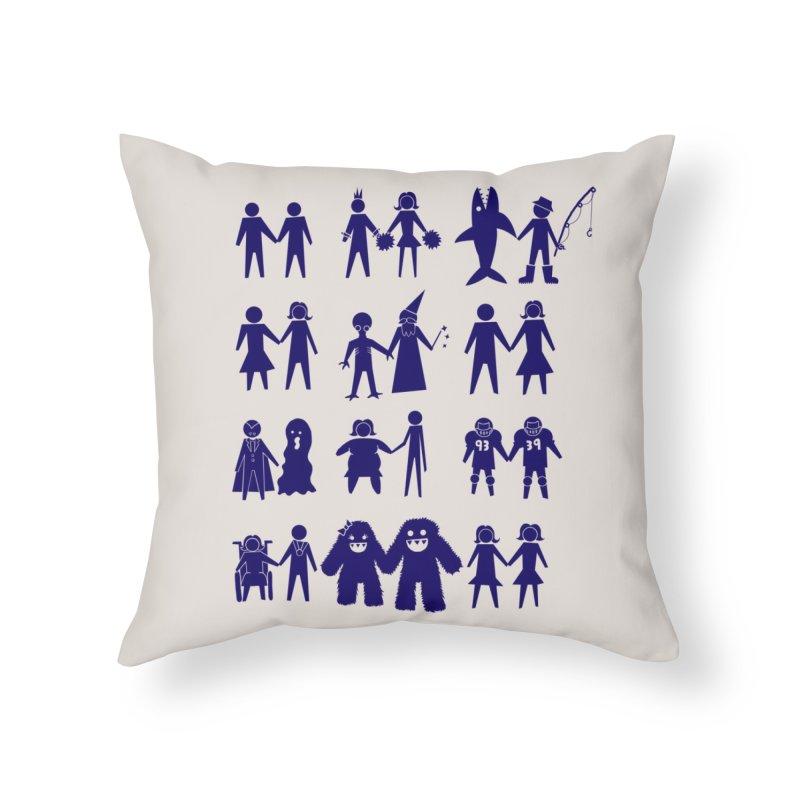 Love is Love Home Throw Pillow by Threadless Artist Shop