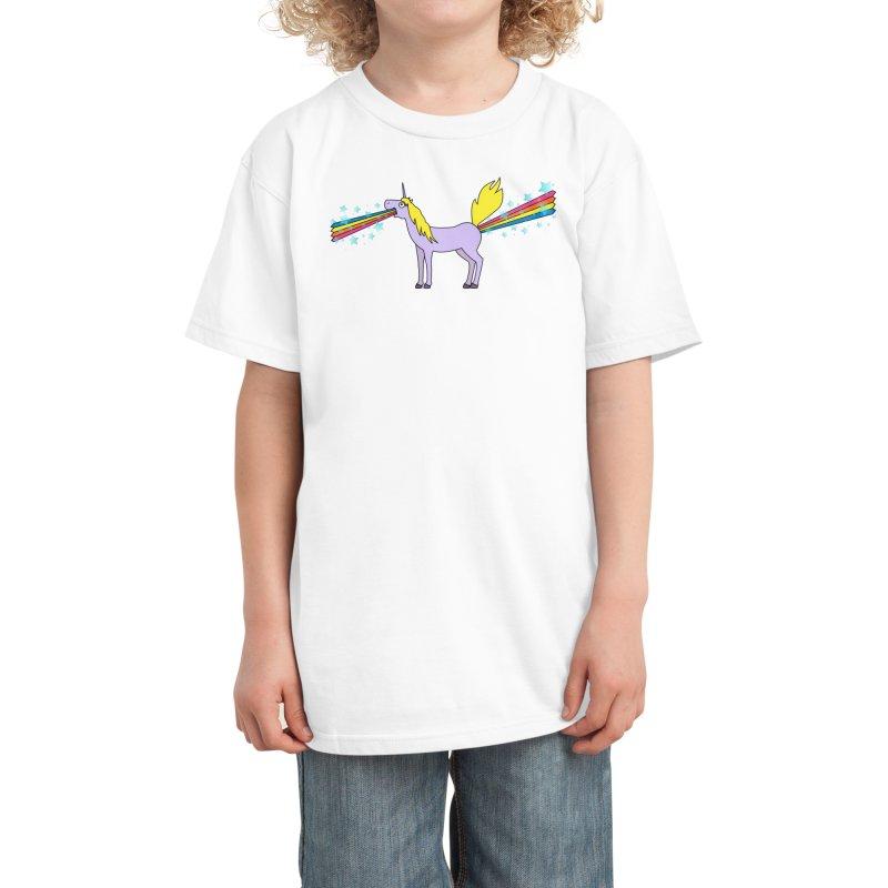 So Full of Rainbows Kids T-Shirt by Threadless Artist Shop