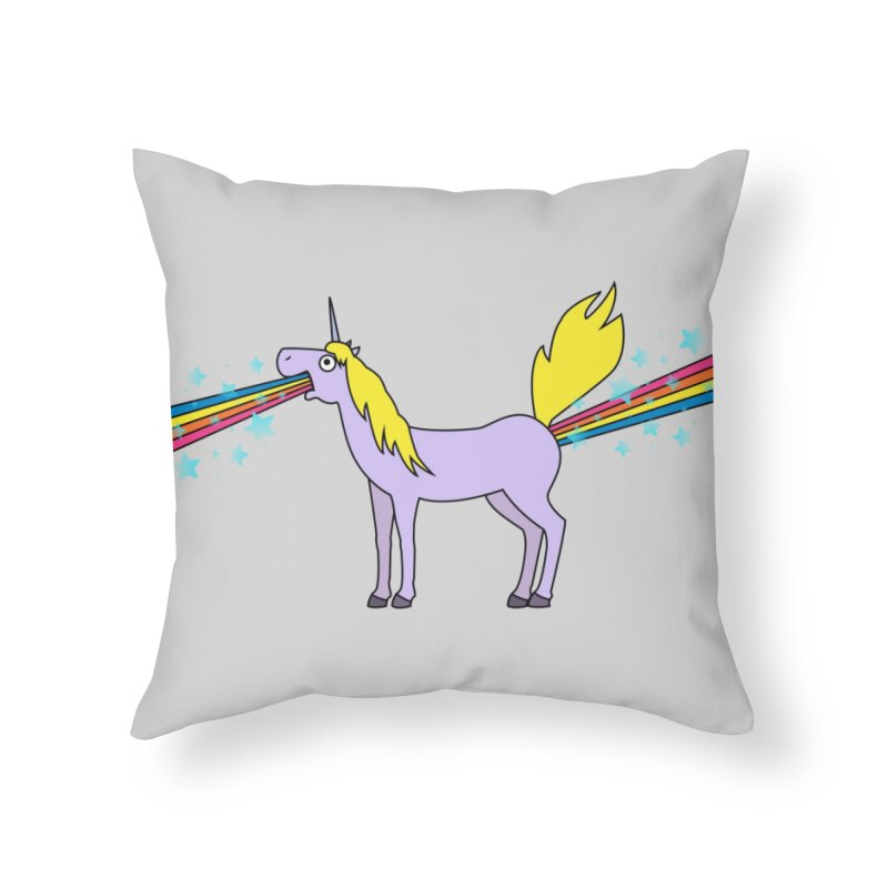 So Full of Rainbows Home Throw Pillow by Threadless Artist Shop