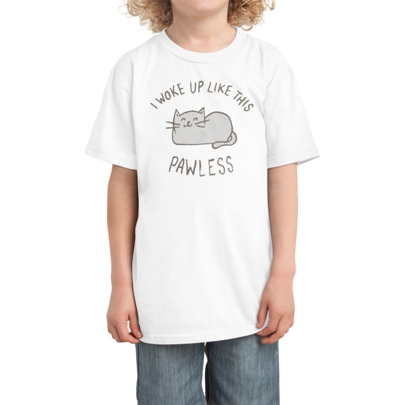 PAWLESS Kids T-Shirt by Threadless Artist Shop