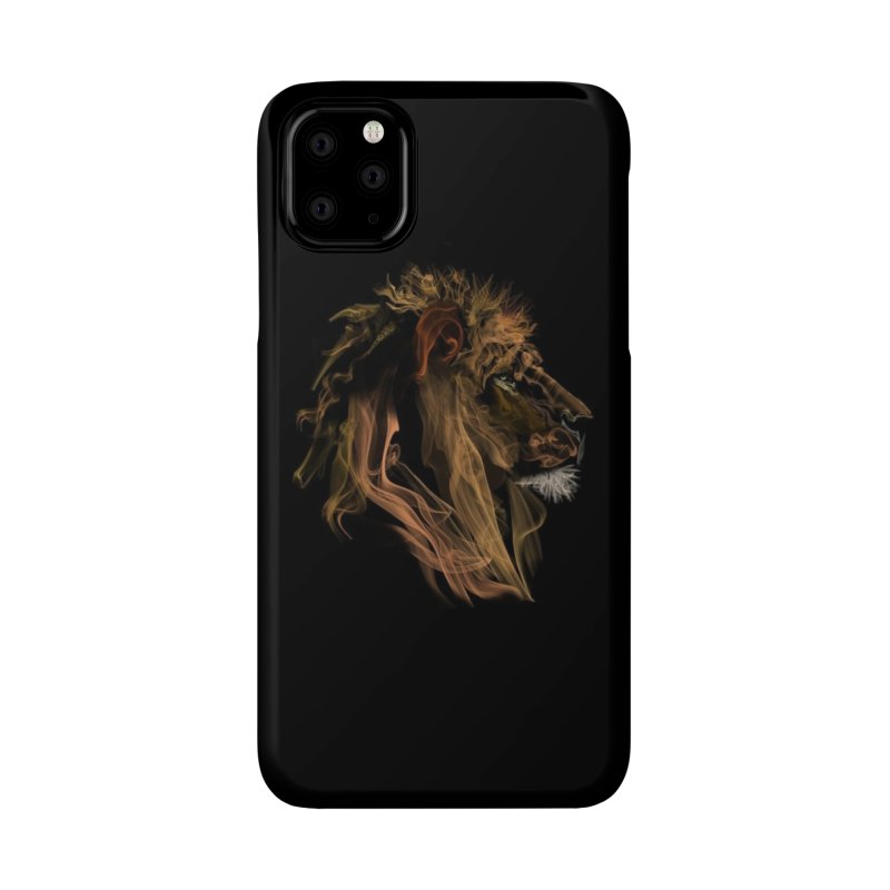 Lion Fumes Accessories Phone Case by Threadless Artist Shop