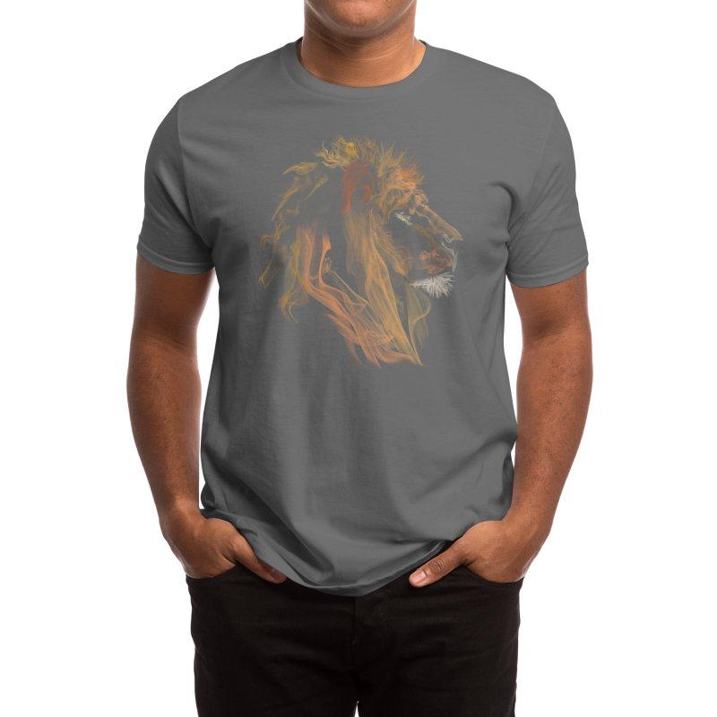 Lion Fumes Men's T-Shirt by Threadless Artist Shop