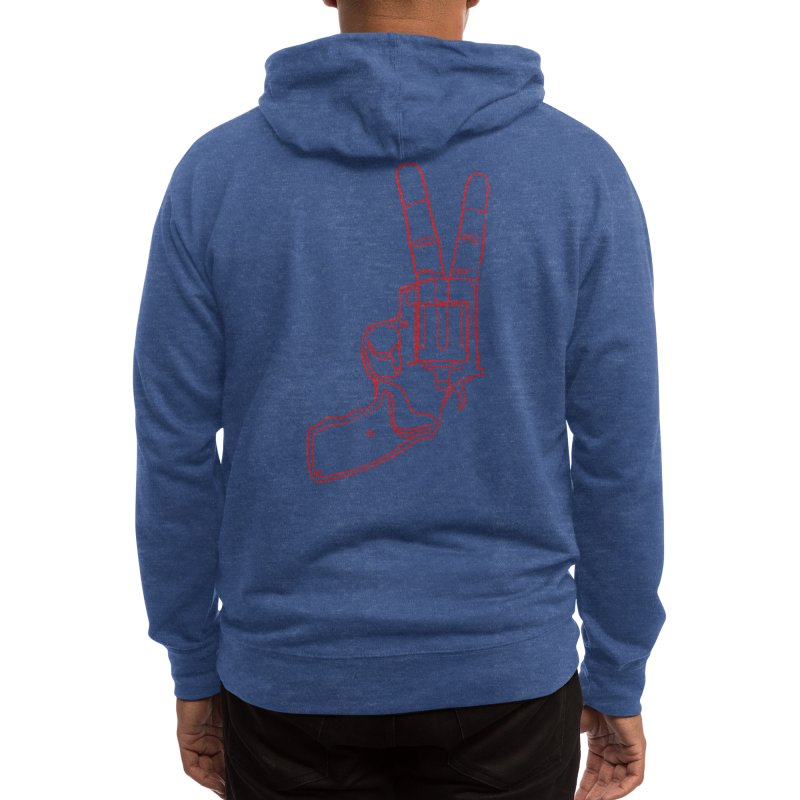 Peace Bang Men's Zip-Up Hoody by Threadless Artist Shop