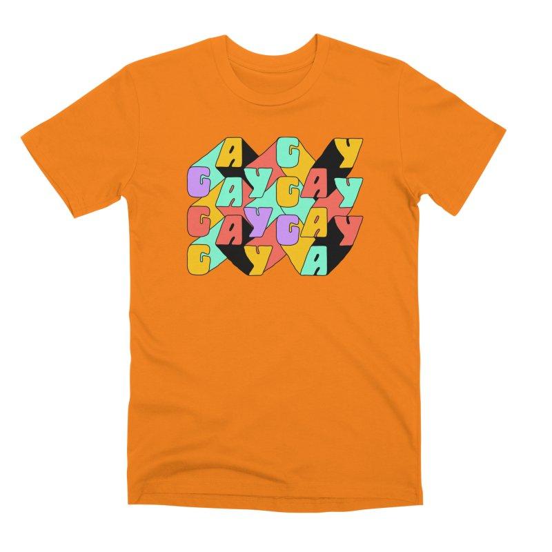 GAY GAY GAY Men's T-Shirt by Threadless Artist Shop
