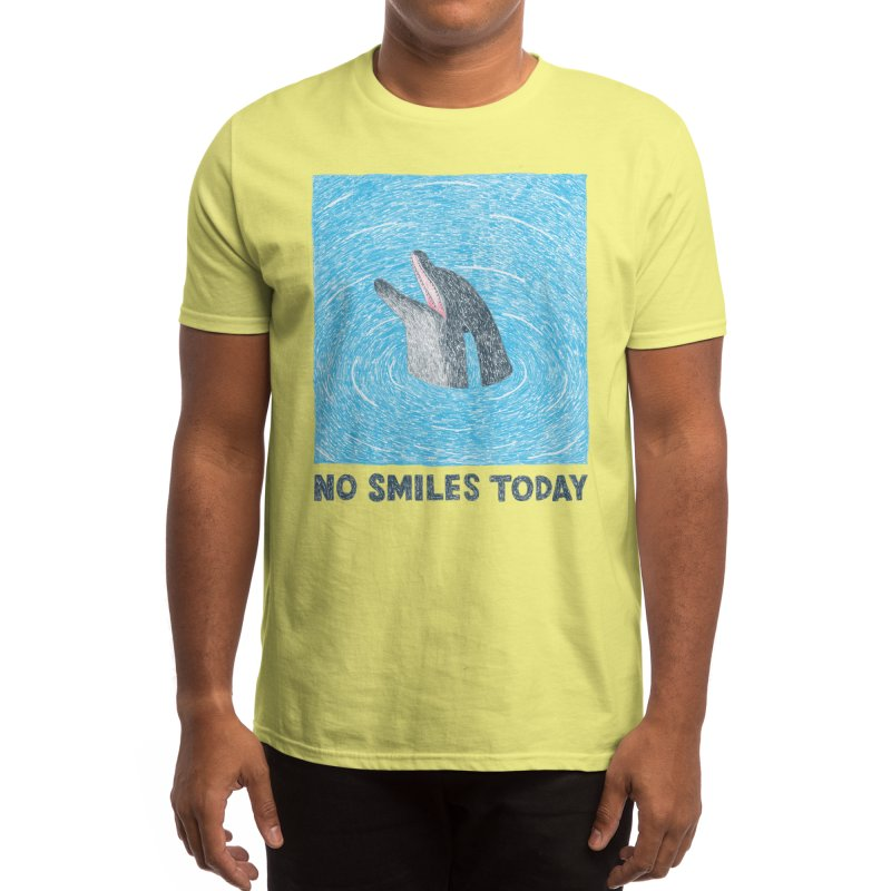 No Smiles Today Men's T-Shirt by Threadless Artist Shop