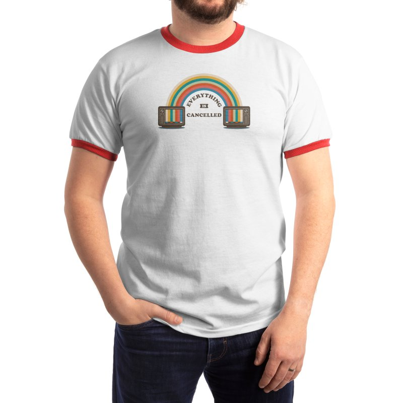 Everything is Cancelled Men's T-Shirt by Threadless Artist Shop